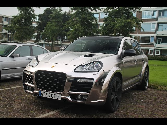 Porsche Cayenne Techart - Revs And Accelerations!!