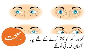 Solution of weakness eyesight || Nazar ki kamzori ka ilaj|| نظر کی کمزوری کا حل