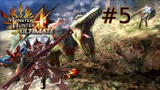 "Monster Hunter 4 Ultimate - Part #5 ""Great Jaggi"""