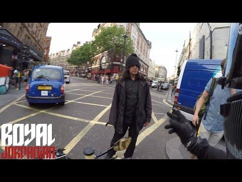 How not to hit a pedestrian
