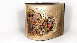 Brian Dettmer: Old Books Reborn As Intricate Art