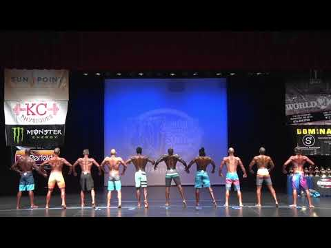 2017 Natural Southern States Mens Physique Open Medium Tall