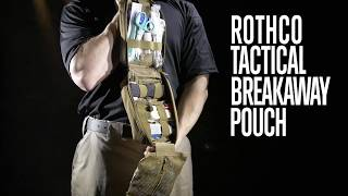 Tactical Breakaway Pouch - Rothco Product Breakdown