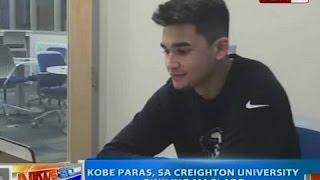 NTG: Kobe Paras, sa Creighton University piniling maglaro