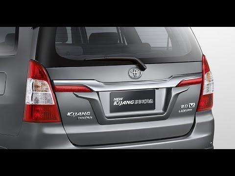 Seven Colors New Kijang Innova A Dream Car An Elegant Look Youtube