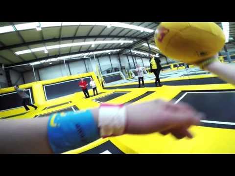 Go Air Trampoline Park Manchester: Dodgeball