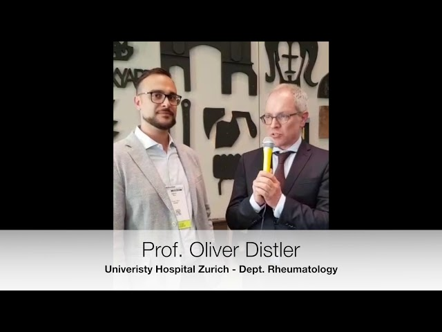 Prof. Oliver Distler interviewed on the results of Riociguat in SSc