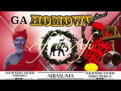 Ga Mantse H.R.M King Tackie Teiko Tsuru II Homowo Message- ENGLISH
