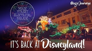 Repeat youtube video The Main Street Electrical Parade at Disneyland is ELECTRIFYING! Full Show 2017