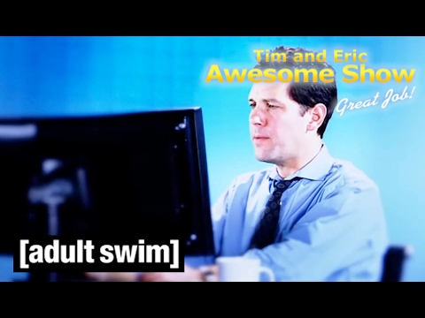 Paul Rudd Tim And Eric Awesome Show Great Job Adult Swim Youtube