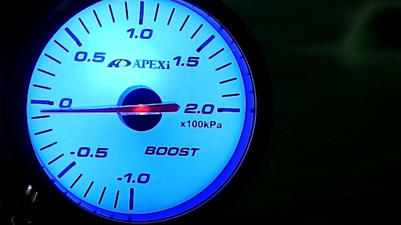 maxresdefault el apexi boost gauge white colour with turquoise backlight youtube apexi el boost gauge wiring diagram at nearapp.co