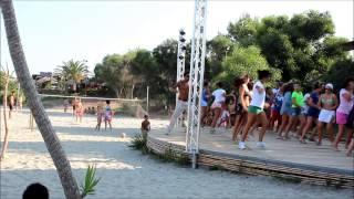 Eddy x Zumba - Choreography @ Vela Beach-Bar, Porto Corallo, Sardegna 2013