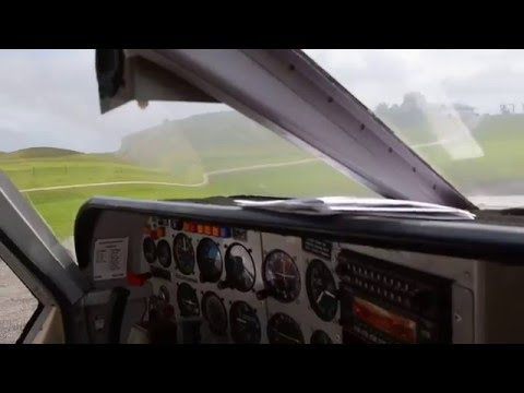 Belize - Flight from Gallon Jug Airstrip to Belize City 2016 Apr. 01