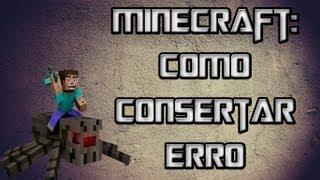 Como Consertar Erro Minecraft [BAD VIDEO CARD DRIVERS]