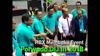 HBX Membuka Powada DIJ III 2018