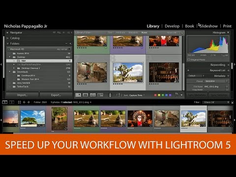 Speed Up Your Workflow with Lightroom 5
