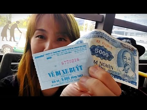 Vietnam Ho Chi Minh Day1 (3/6) Take a Bus 152 from Airport to City Center