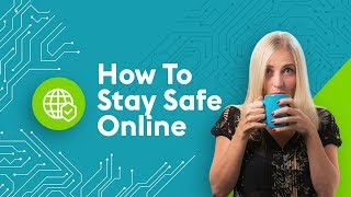 How To Stay Safe Online | 4 Minute Tech