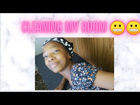 CLEANING MY ROOM |SOUTH AFRICA