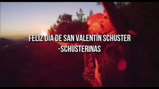 We can dance - tweet lyric - Feliz día de San Valentín Schuster