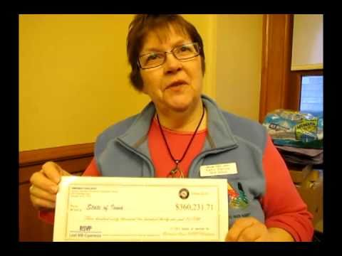 Iowa's senior volunteers help statewide