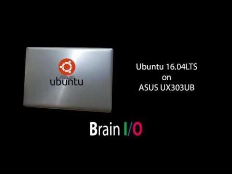 Ubuntu 16 04 LTS on ASUS Zenbook UX303UB