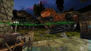 ARK: Survival Evolved - Уроки выживания. Урок 140. Охота на гигу.
