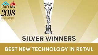 2018 MENA Shopping Centre and Retail Award - Best New Technology in Retail Silver