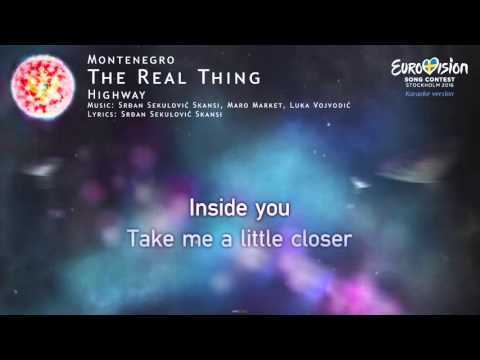 Highway - The Real Thing (Montenegro) - [Karaoke version]