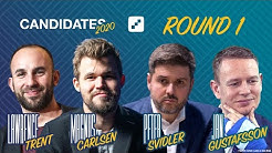 FIDE Candidates 2020 | Round 1 | Live Commentary with World Champion Magnus Carlsen