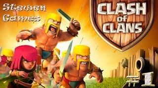 Прохождение игры Clash of Clans (Android) #1 Провинция!!!(Прохождение Real Steel, Tor 2, подкасты, обзоры и многое другое на моем лайв канале. Live канал - https://www.youtube.com/channel/UCo-XMlL..., 2014-09-13T14:47:29.000Z)