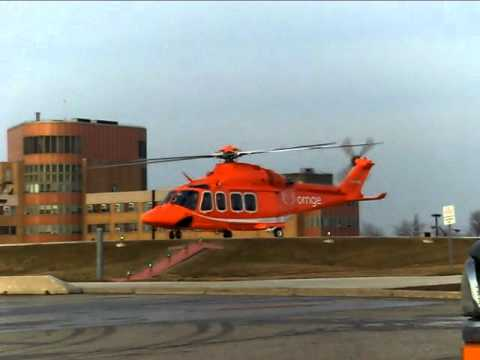 Ornge AW 139 Start Up and Take Off