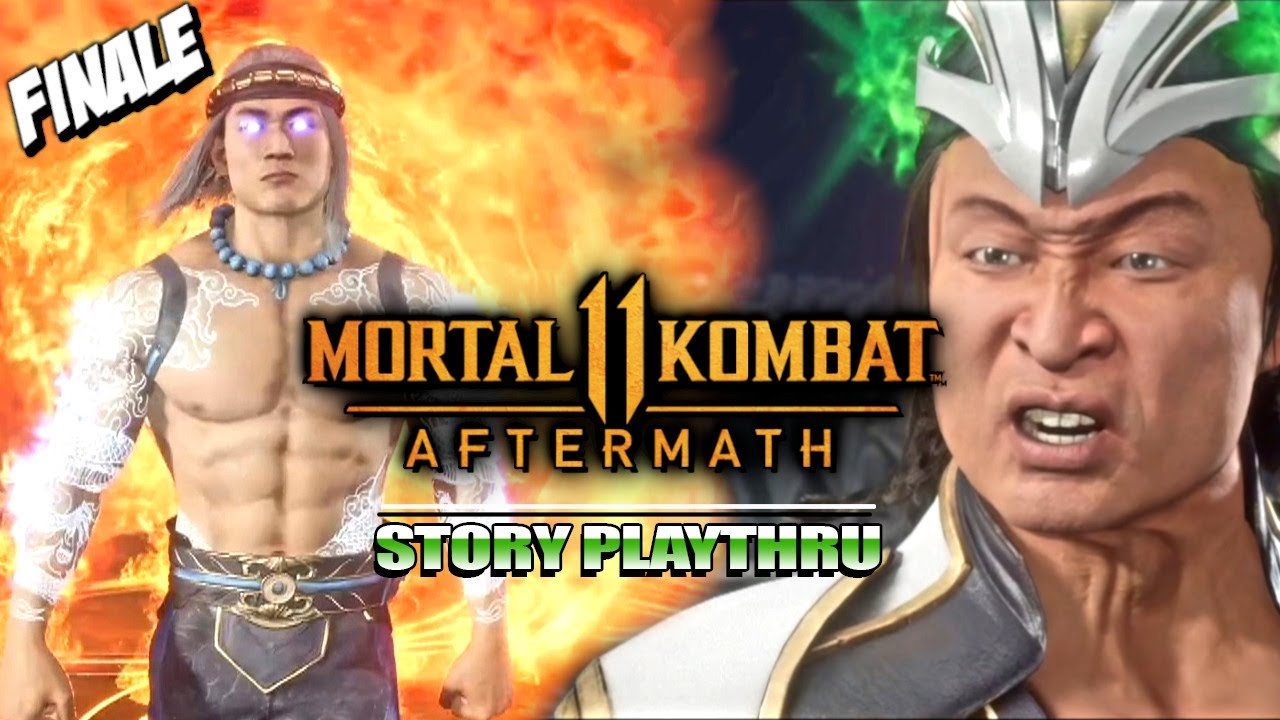 This Cannot End Well... : MK11 Aftermath Story - Finale