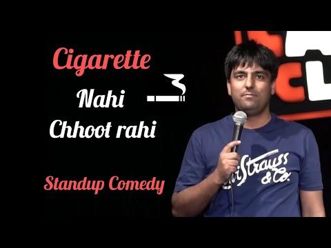 Cigarette Nahi Chhoot Rahi | Stand up Comedy by Pratyush Chaubey