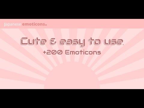 Japanese Emoticons App Showcase