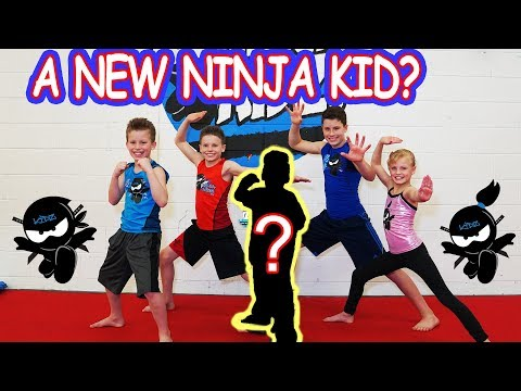 Who's the NEW NINJA KID? Ninja Kidz TV