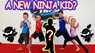Who's the NEW NINJA KID? Ninja Kidz TV
