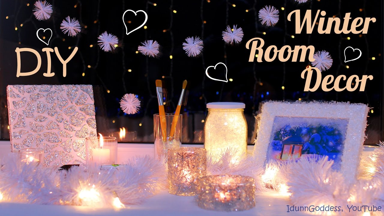DIY Winter Room Decor Ideas How To Decorate Your Room For - Cool easy ways to decorate your room