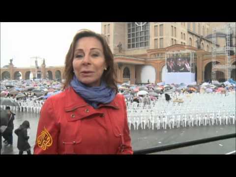 Pope warns against decriminalising drugs