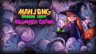 Mahjong. Halloween.