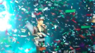 XIAH JUNSU - ENDING (Mexico Blackberry Auditorium 2012)