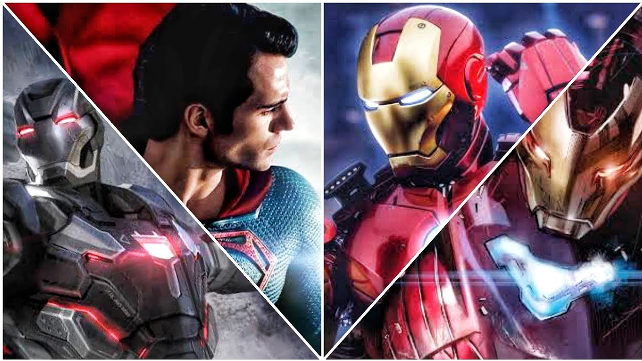 Ironman Plasma Laser vs Superman Heat vision,Where is Ultron-buster?