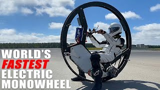 Students Built World's Fastest Electric Monowheel