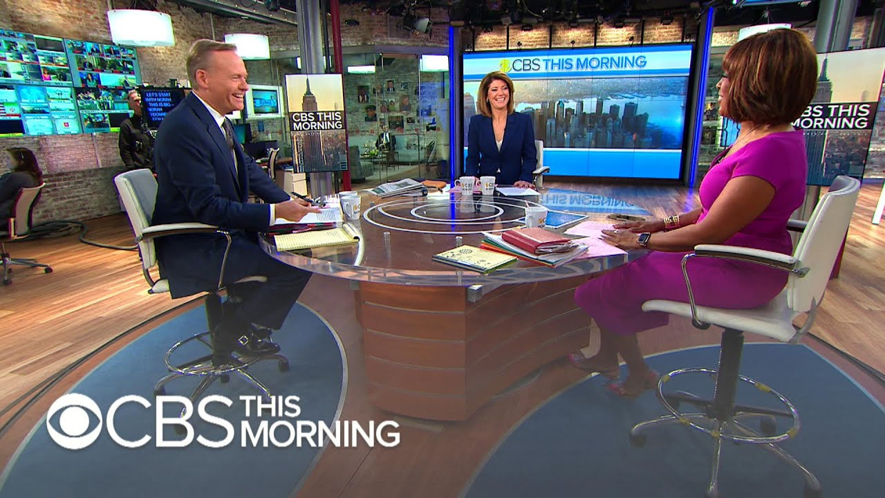 Cbs News Announces Anchor Changes At Cbs This Morning Cbs Evening News Youtube