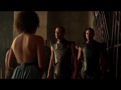 grey worm and missandei   Deleted  from Season 5