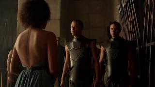 grey worm and missandei   Deleted Scene from Season 5