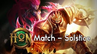 "[HoN Match] Solstice - ""PlatyChris"" 2064 MMR"
