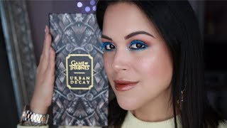 GAME OF THRONES :URBAN DECAY COLLECTION (+ Swatch & tutoriel)