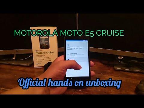 Cricket Motorola E5 Cruise - How To Factory Restore Motorola E5