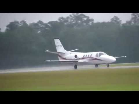 Cessna Citation 501 Takeoff From Lone Star Executive Airport